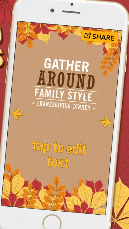 thanksgiving day invitations holiday card maker by marko antic
