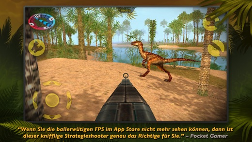 Carnivores: Dinosaur Hunter Pro Screenshot