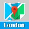 London metro transit trip advisor tube guide & map