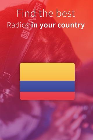 Radio Columbia - Las radios COL - FREE screenshot 1