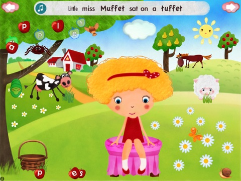 Little Miss Muffet HD screenshot 1