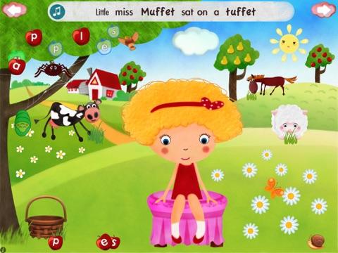 Little Miss Muffet HD screenshot 1
