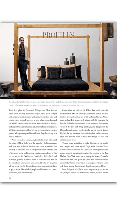 Milieu Magazine review screenshots