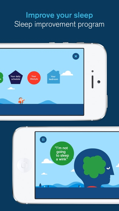 Sleepio The Sleep Improvement App Iphone App Appwereld