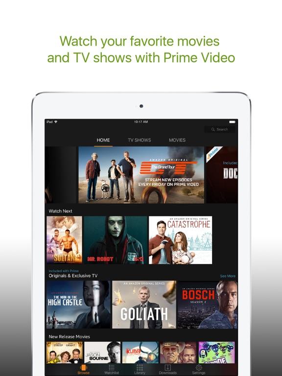 Screenshot #1 for Amazon Prime Video