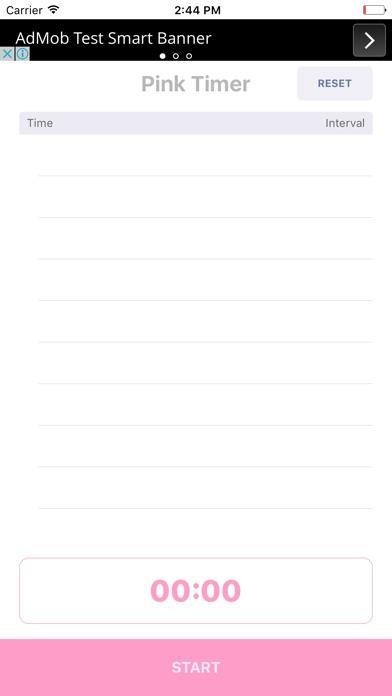 download Pink Timer  - Embarazo / contracción del parto apps 2
