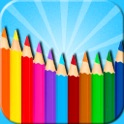 Kids Coloring  Book - Doodle Pad 2in1 icon