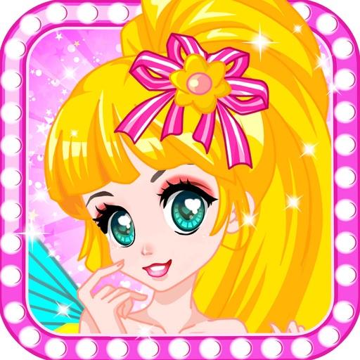 Elegant Rose Fairy-Girl games iOS App