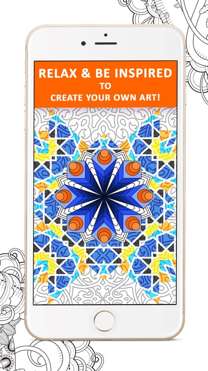 colorfy best adult anti stress coloring book app - Best Coloring Book App