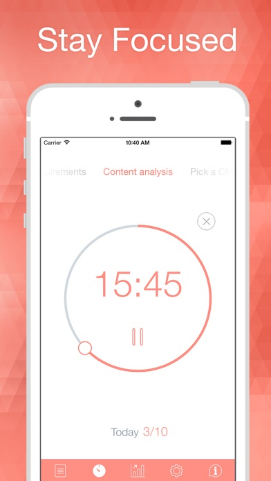 Screenshot #6 for Be Focused Pro - Focus timer & Goal Tracker