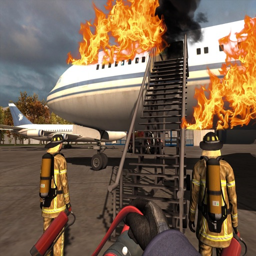Airport Firefighter Emergency Rescue 2017 iOS App
