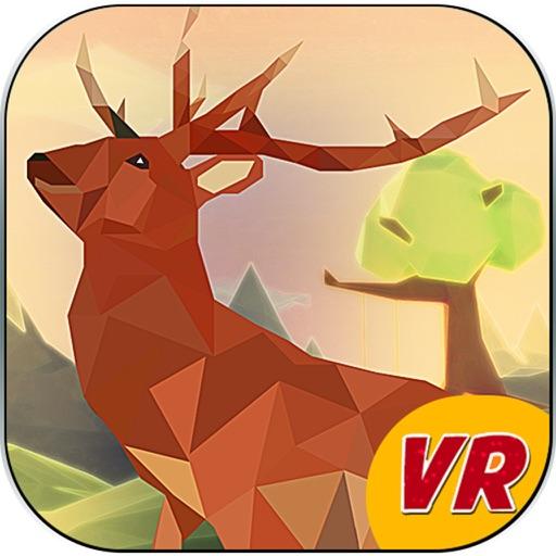 Low Poly Deer Sniper Hunting- VR (Virtual Reality) iOS App
