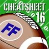Fantasy Football Cheat Sheet & Draft Kit 2016