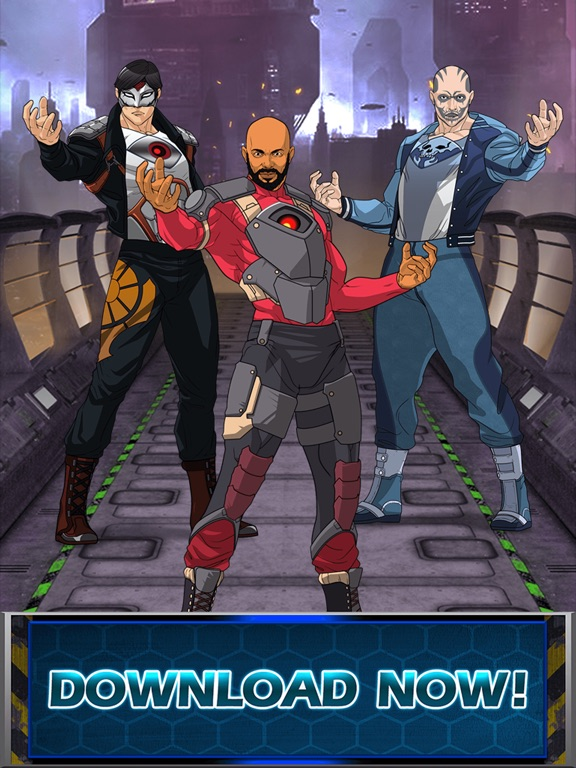 Super-Hero Squad Creator– Dress Up Games for Free-ipad-0