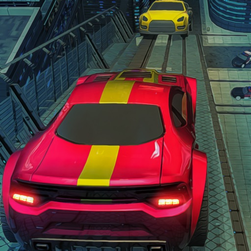 Ridicules Racing Car Stunt of Balance iOS App
