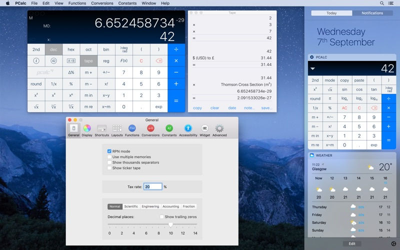 Screenshot #1 for PCalc