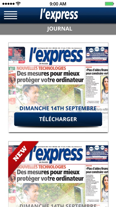 Lexpress (la Sentinelle Ltd) review screenshots