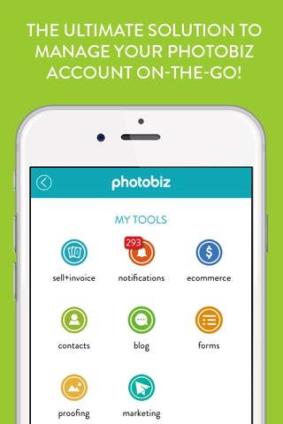 PhotoBizToGo screenshot 1