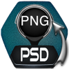 Convert PSD to PNG