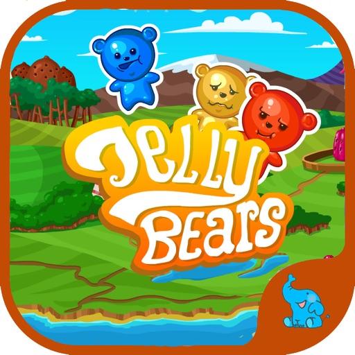 Jelly Bears - Splash Puzzle iOS App