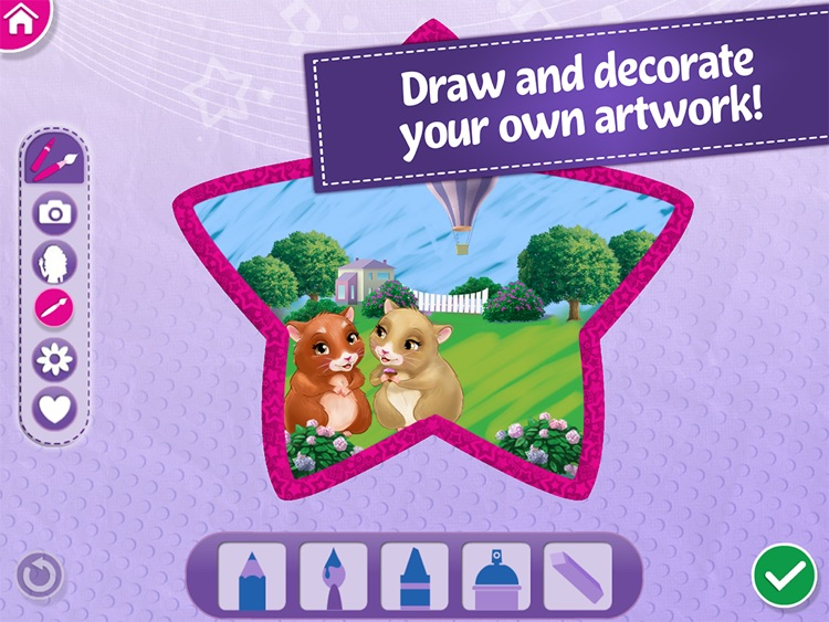 Lego Friends Maker Studio Draw Paint Make Art By Lego System As