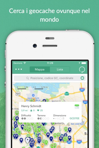 Cachly - Simple and powerful Geocaching for iPhone screenshot 1