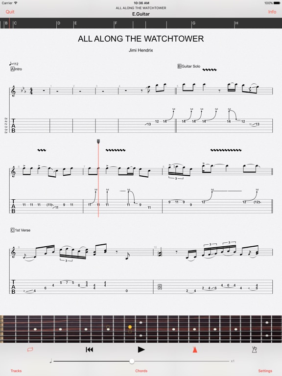 Guitar Pro IPA Cracked for iOS Free Download
