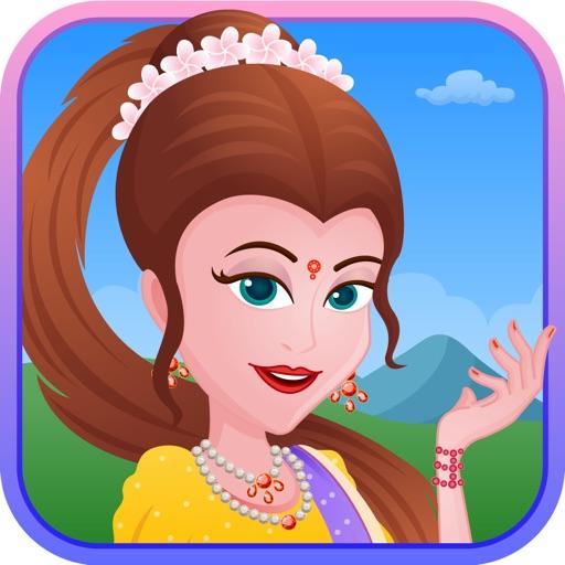 Indian fashion dress up Hindi fantasy Princess edition for FREE iOS App