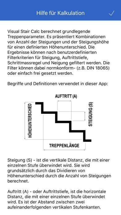 Visual Stair Calc Screenshot