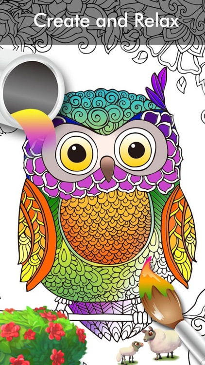 Colorfy Coloring Book for Adults Free for Girl by Minh Hoang