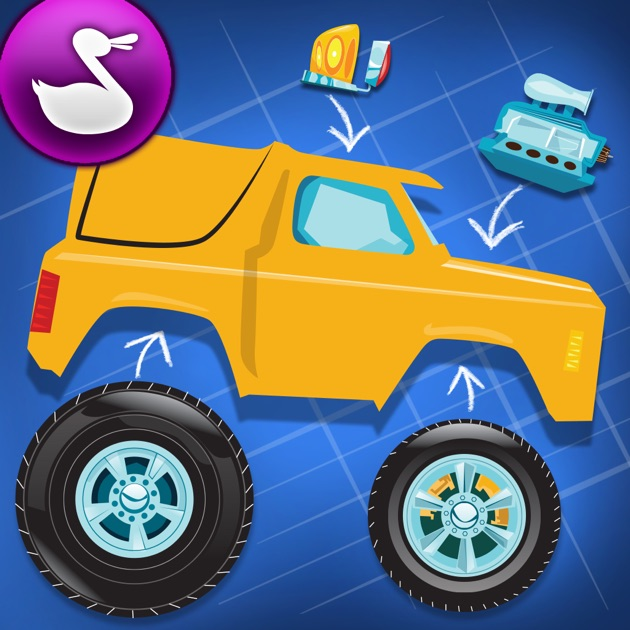 Build A Truck >> Build A Truck By Duck Duck Moose On The App Store
