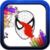Amazing Coloring Book Game for Spider-man Trilogy