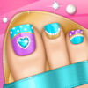 Toe Nail Game: Princess Salon for Fashion Pedicure