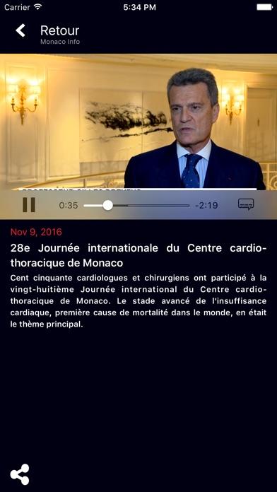 Monaco InfoCapture d'écran de 4