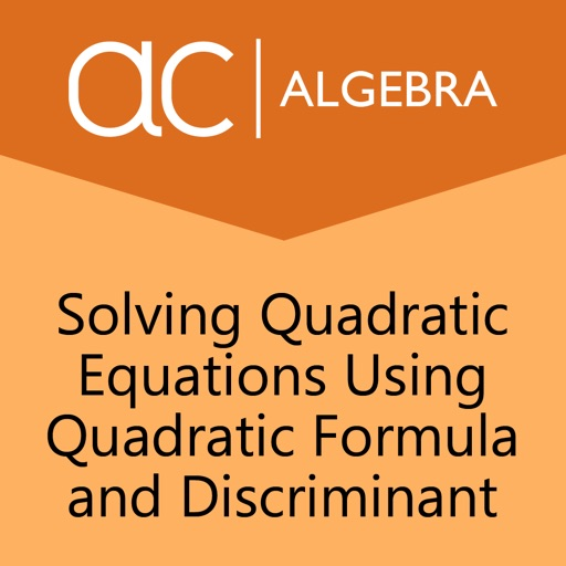 how to find gradent of a quadratic using discriminant