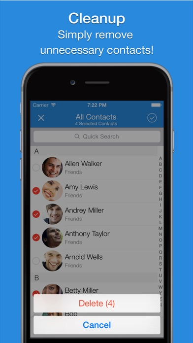 Screenshot #10 for Smart Merge - Cleanup Duplicate Contacts
