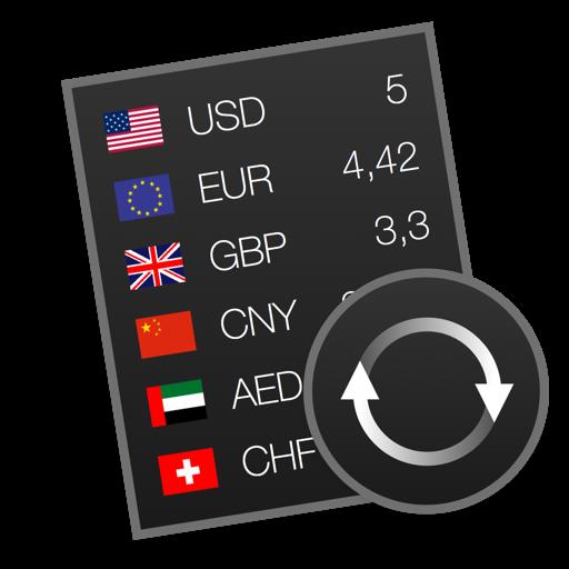 Currencier - Currency Converter Widget For Mac