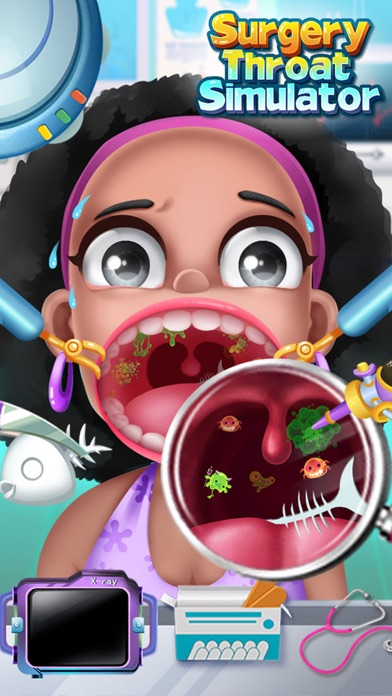喉の手術シミュレータ - 無料ドクターゲームのスクリーンショット4