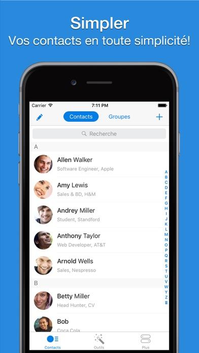 Simpler - Contacts ManagerCapture d'écran de 1