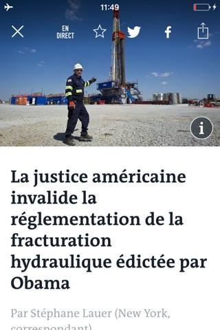 Le Monde, l'info en continu screenshot 3