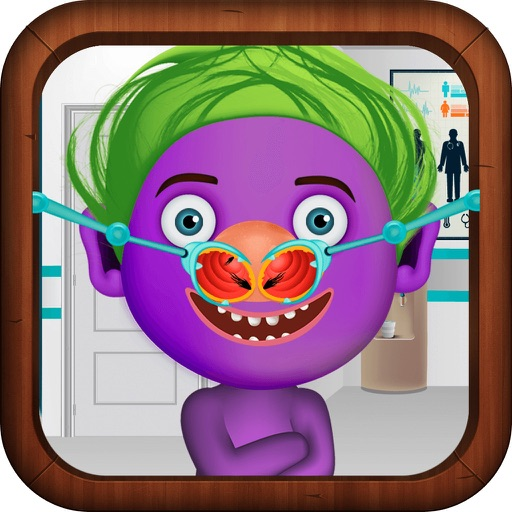 "Nose Doctor Game ""for Trolls"" iOS App"