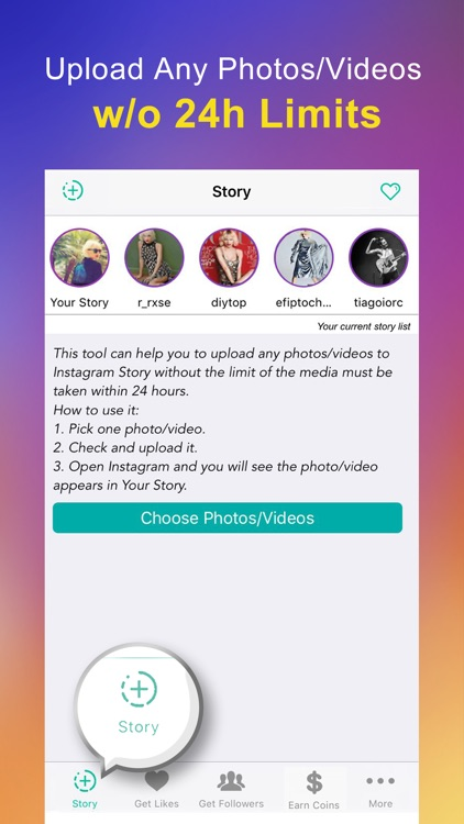 Insta story upload save for instagram stories by tom jiang insta story upload save for instagram stories ccuart Images