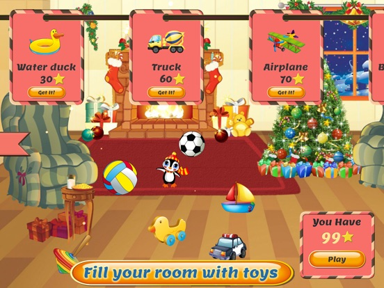 Скачать игру Рождественские игры: Санта-Клаус партия для детей