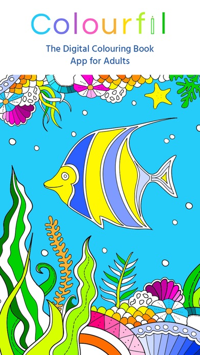 Colourfil Free Colouring Book For Adults On The App Store