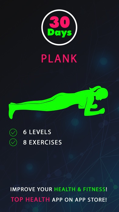 30 day plank fitness challenges workout app download
