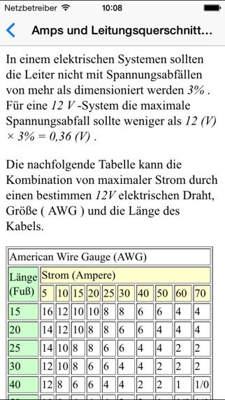 Berühmt Draht Größentabelle Von Amps Zeitgenössisch - Die Besten ...
