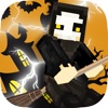 Crooked Boy & Girl Halloween Skin for Minecraft PE