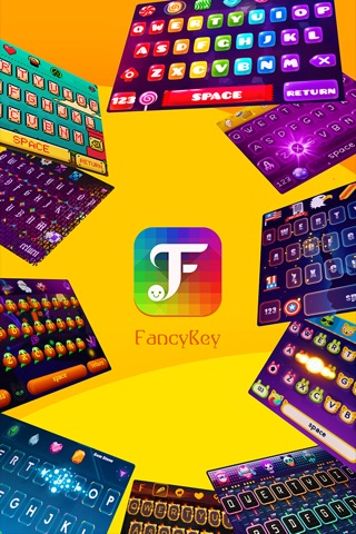 FancyKey - Keyboard Themes screenshot 1