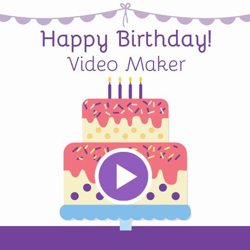 Birthday Movie Maker Photo Slideshow Editor