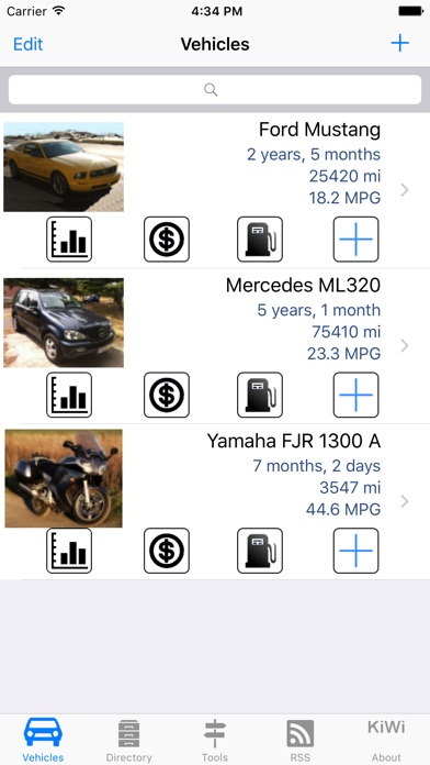 Car Manager for Car & Bikes Screenshots